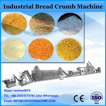 hot selling industrial bread crumbs snack food production line bread crumb extruder machine