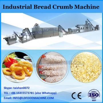 automatic yellow bread crumbs crispy panko making machinery