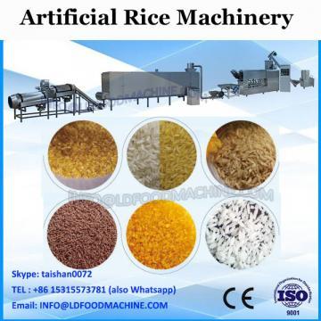 automatic man made rice extruder making machine