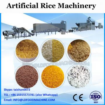 new type hot selling man made rice production line