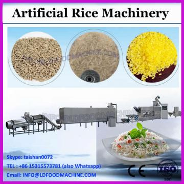 Multifunctional nutritional rice processing line