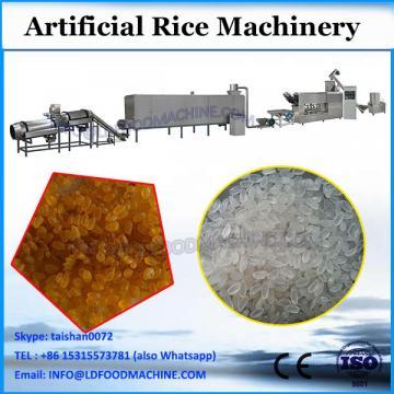 low price artifical rice making machine machinery processing line