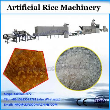 Top sale artificial instant rice making machine twin screw extruder for artificial rice
