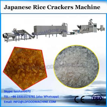 HG sweet or salty senbei biscuit making line capacity is 2.5-12t per day