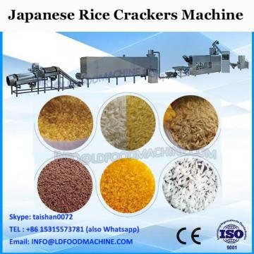 250Kg hot sale gas Rice biscuit making machine