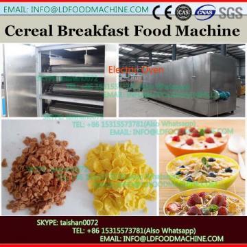 Modern Design hot air breakfast cereal corn flakes snacks puffed machine