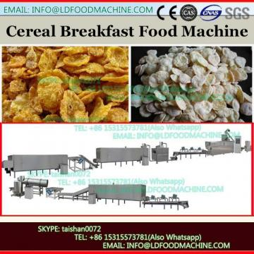 Extruded sweet wheat cereal snacks corn flakes food making production line machine from China Jinan DG