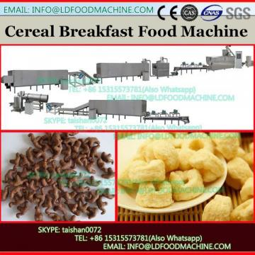 Sweet salty crispr corn flakes various shapes crispy chips snacks food breakfast cereal production line snacks food machine