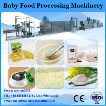 Instant cereal soup processing line
