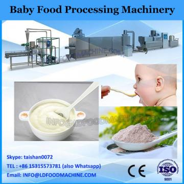 Continuous baby cereal food processing machine