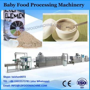 Extruded nutritional powder baby food processing machine
