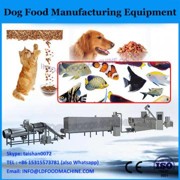 Pet food extrusion equipment for processing ingredients for pet food manufacturer industry