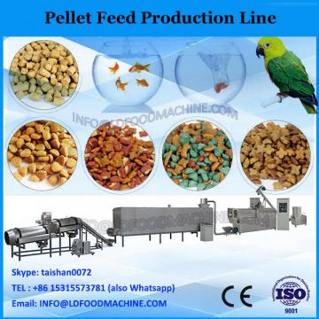 Professional poultry feed pellet production line with capacity 1ton/h