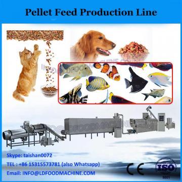 Vertical ring die complete feed line for making pellets