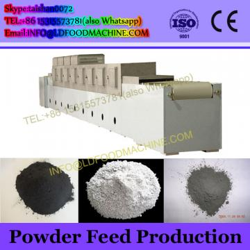 Continuous fish feed snack making equipment line