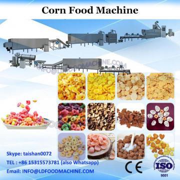 automatic corn flakes snacks food making machine