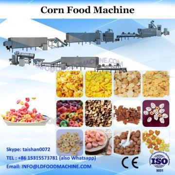 Puffed corn wheat pillow snacks food extruder/machines
