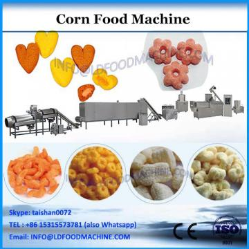 Automatic Hollow Tube Puffed Corn Snacks Food tube ice extruding machine price