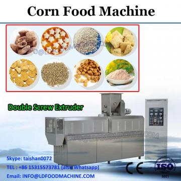 Corn puffs snack food extruded processing making machinery