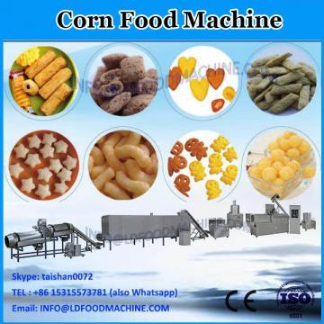 Puffed corn slanty snacks food making machine extruder