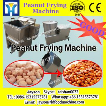 Net-belt continuous peanut frying production line