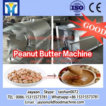 Stainless steel automatic peanut butter grinding making machine