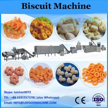 Automatic nougat sandwich biscuit machine with pillow packing machine