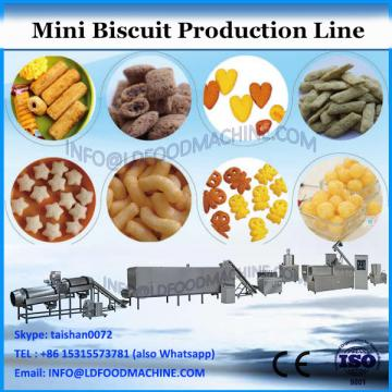 T&D Full set soft biscuit plant 100kg/h small capacity biscuit production line small scale industry biscuit making machine