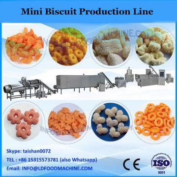 food production mini line for wafer roll machine