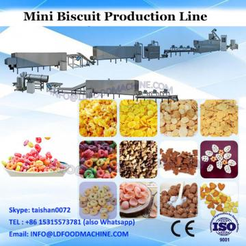 gas Professinal mini complete production line of biscuit