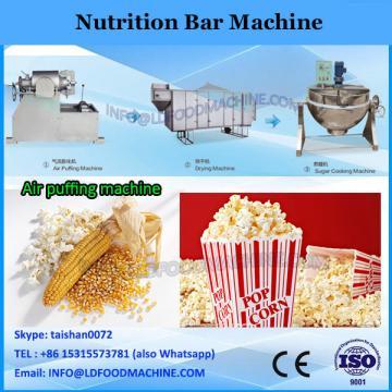 Multifunction snack bar making machine for making energy bar nutrition bar power bar
