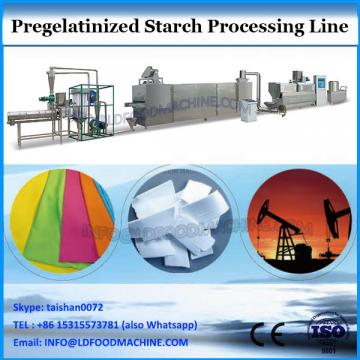 industrial pregelatinized starch machine processing line for oil drilling industry and mining, modified drilling starch machine