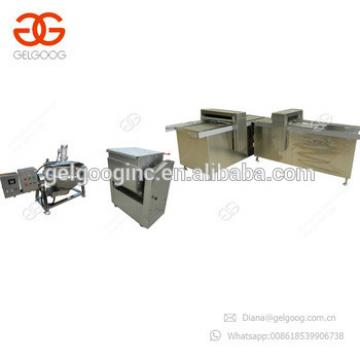 Sesame Brittle Granola Bar Production Line Peanut Brittle Cooking Machine
