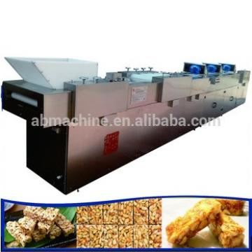 Shanghai Crunchy Granola Bars machine peanut candy bar making machine