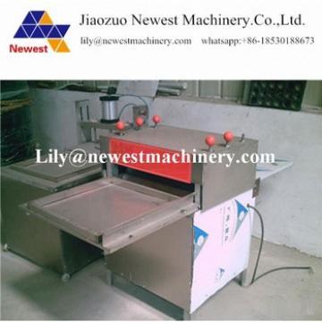 Manufacturer lowest price granola bars flattening machine