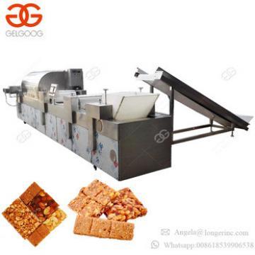 Factory Price Peanut Brittle Granola Bar Cereal Energy Bar Making Machine Peanut Chikki Protein Bar Machine