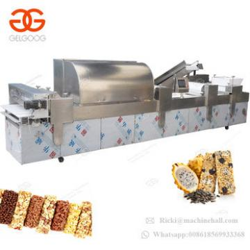 CE Approved Peanut Candy Moulding Nut Oat Energy Snacks Bar Making Production Line Sesame Granola Bar Cutting Machine