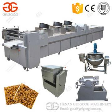2017 Best Price Peanut Candy Cutting Machine Protein Bar Granola Sesame Candy Bar Making Machine Price