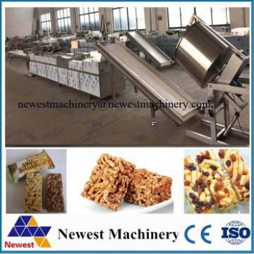 low price stainless steel candy bar making machine/china granola bar making machine