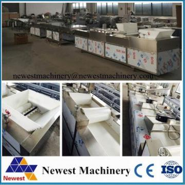best selling stainless steel peanut brittle cutting machine/cereal bar cutting machine