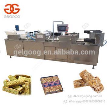 Hot Selling Peanut Chikki Brittle Candy Cutting Machine Sesame Snap Bar Production Line Granola Making Muesli Nut Bar Machine