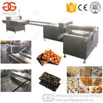 2017 Trade Assurance Snack Bar Cutting Machine Granola Oat Peanut Sesame Bar Making Machine