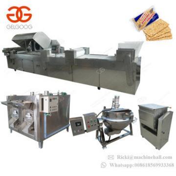 Manufacturers Price Protein Nut Almond Granola Sesame Snack Bar Cutting Processing Equipment Peanut Candy Making Machine