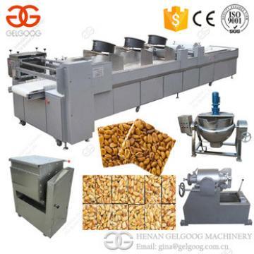 Factory Snack Bar Cutting Machine Sesame Granola Cereal Peanut Bar Machine Nougat Making Machine