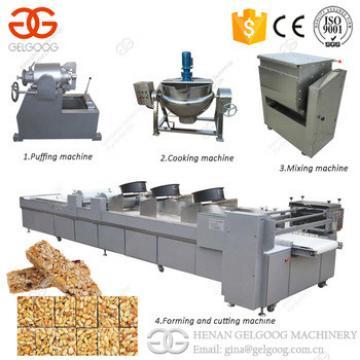 Protein Bar Cereal Bar Cutting Machine Peanut Candy Making Machine Granola Bar Production Line