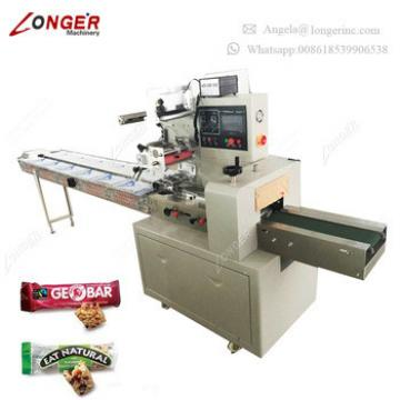 Professional Machine Wrapping Snack Food Automatic Cereal Bar Peanut Candy Bar Packaging Machine for Sale