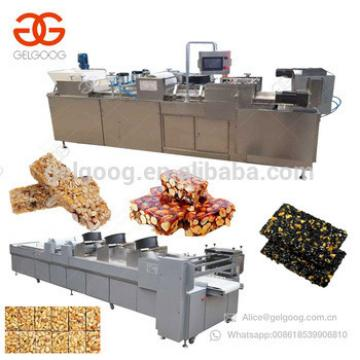 Quality Energy Cereal Granola Muesli Protein Peanut Brittle Bar Forming And Cutting Production Line Sesame Candy Making Machine