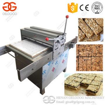 2017 Professional Granola Cereal Peanut Bar Making Machine Sesame Candy Peanut Snack Bar Cutting Machine