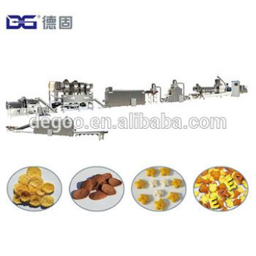 Automatic Puffing Choco Flakes Coco Shell Snacks Cereal Extruder Machine