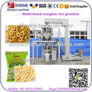 10 heads electronic weigher Automatic detergent washing powder breakfast cereal filler packer